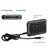2in1 Bluetooth 4.2 Transmitter and Receiver Stereo Audio 3.5mm Adapter Music USB