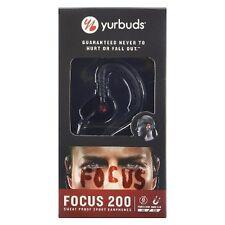 Yurbuds Focus 200 Black Sweat Proof Sport In-Ear Headphones JBL Oz Warranty
