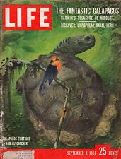 1958 Life September 8 - Galapagos; Hula Hoops; Brigitte Bardot; James Arness