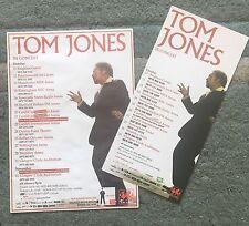 Tom Jones In Concert 2x Tour Flyers