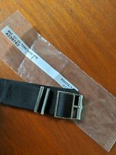 Tudor Heritage Nylon Watch Strap / Band & Buckle (Black - 22mm) - Black Bay NATO