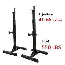 Squat Rack Stand Workout GYM Power Rack Weight Lifting Home Fitness Equipment