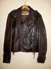 perfecto, blouson cuir,vintage SCHOTT 115, made in USA, t.42 us / 52 fr, genuine
