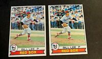 1979 Topps #455 Bill Lee - Red Sox (2)
