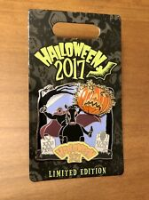 Disneyland Disney World Halloween Day 2017 Headless Horseman Pumpkin LE Pin NEW
