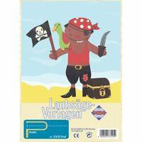 PEBARO Laubsägevorlage Pirat