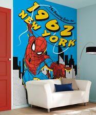 Marvel Liebhaber Schlafzimmer Tapete 198x279cm Spider-Man 1962 Foto Wand Dekor