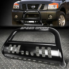 """FOR 05-16 NISSAN FRONTIER/PATHFINDER BLACK 3"""" BULL BAR PUSH BUMPER GRILLE GUARD"""