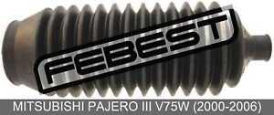 Left Steering Gear Boot For Mitsubishi Pajero Iii V75W (2000-2006)