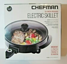 Chefman Electric Skillet 12-Inch Round New Kitchen Appliance