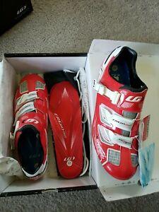 Louis Garneau Carbon Pro Team Size 45 Clipless Cycling Shoe ginger 330.00 retail