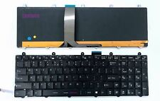 Brand New US keyboard for MSI GT60 GT70 with colorful Backlit