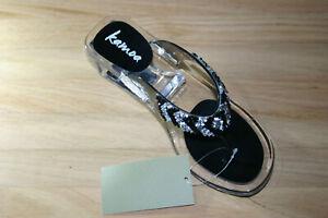 CLEARANCE SALE! KAMOA Platform Heels  - PSINES (Black)