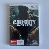 Nintendo Wii - Call Of Duty Black Ops - Complete With Manual - Free Postage