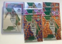 Gordon Hayward 2019-20 Mosaic Prizm (10) Card Lot Reactive Orange Blue & Silver