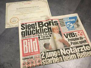 BILDzeitung 5.10.1985 Oktober 05.10.1985 Geschenk 34. 35. 36. 37. Geburtstag