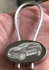 Kia Sportage Schlüsselanhänger Keyring Modell 2016 Fotogravur