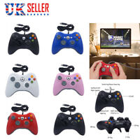 Wired Games Controller Gamepad Joystick Joypad For Microsoft Xbox 360 / PC360 UK