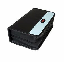 120 Discs Portable CD DVD Wallet Holder Bag Case Album Organizer Media Storage