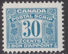 Canada Revenue Postal Scrip Van Dam #FPS52 MNH 30c 1967 cv $25