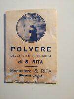 SANTA RITA RELIQUIA POLVERE DELLA VITE PRODIGIOSA DI S. Rita