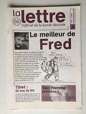 LA LETTRE DE DARGAUD N 56 FRED TIBET VAN HAMME FRANK LE GALL THORGAL / 2000 / BD
