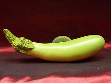 Long Eggplant Vegetable Food Cooking 3D Polyresin Fridge Magnet Refrigerator