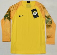 Nike Youth Goalie Yellow Soccer jersey AR9771 719. Youth Size: Small