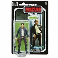 STAR WARS BLACK SERIES ESB 40TH ANNIVERSARY HAN SOLO BESPIN 6 INCH ACTION FIGURE