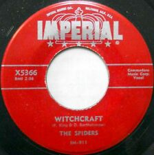 THE SPIDERS doowop 45 Witchcraft / Is It True orig. IMPERIAL New Orleans mg1202