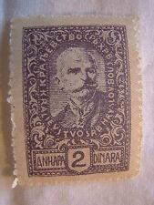 Yugoslavia Stamp 1920 Scott 3L52 A9  2 Unused