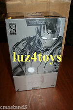 Rare Hot Toys Iron Man 3 War Machine Mark II DIECAST 1/6  Sideshow Exclusive NEW