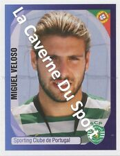 N°406 MIGUEL VELOSO # PORTUGAL SPORTING.CP STICKER PANINI CHAMPIONS LEAGUE 2008