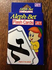 Aleph Bet Hebrew Flash Cards Adult/ Kids Master Hebrew Alphabet  EZ - TOP SELLER