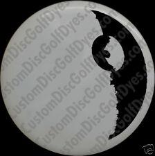 Disc Golf Custom Dye Stencil - Death Star (2 Pack)