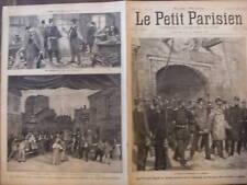 LE PETIT PARISIEN 1893 N 253 UN PROCES D'ESPIONNAGE