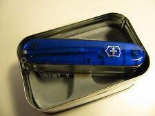 """SWISS VICTORINOX   3 5/8"""" BLUE MULTI-TOOL & POCKET KNIFE/NEW/ORIGINAL BOX"""
