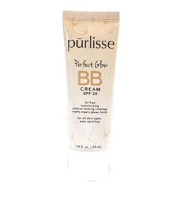 Purlisse Perfect Glow BB Cream SPF 30 Fair 1.4 fl oz 02/23