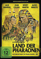 Land der Pharaonen DVD neu&ovp. Monumentalfilm Kult Joan Collins Jack Hawkins