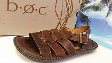 Born Size 9 M HENDRYX Sunset Brown Full Grain Leather Sandals Men's Shoes EUC