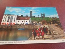 1979 Postcard The Pier and Harbour St. Andrews Fife