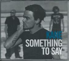 KANE - Something to say DUALDISC CD SINGLE DVD 6TR HOLLAND 2005 BMG