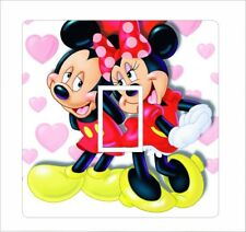 Mickey and Minnie Mouse - Light Switch Sticker / Cover