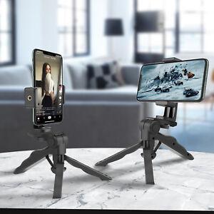 360° Adjustable Mini Cell Phone Tripod Camera GoPro Desktop Holder Stabilizer US