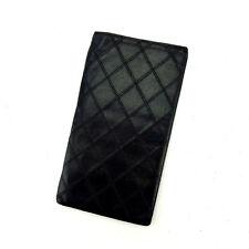 41baa8baa957 Chanel Wallet Purse Long Wallet Black Woman Authentic Used A1165