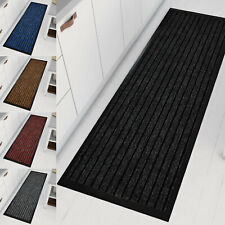 Heavy Duty Non Slip Kitchen Runner Rug Large Small Indoor Outdoor Rubber Mat
