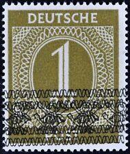 Germany 1948 - 1 RM - Michel A IX II Bandaufdruck MNH SIGNED
