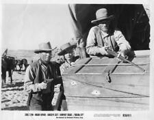 """Randolph Scott, Miriam Hopkins """"Virginia City"""",vintage movie still"""