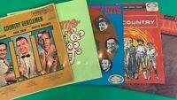 """Selection of 5 Vintage Vinyl Country Music 12"""" Albums"""