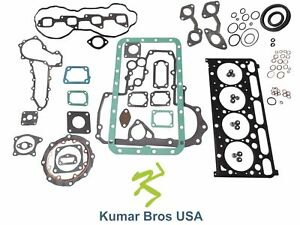 "New Kumar Bros USA Full Gasket Set for BOBCAT T190 ""KUBOTA V2403-M-DI"""